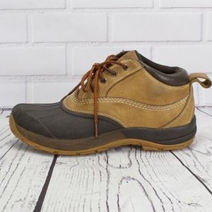 LL Bean Lace Up Storm Chasers Ankle Boots Size 8.5